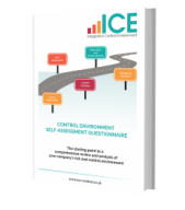 ICE Control Environment Questionnaire cover